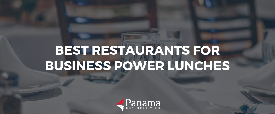Best Restaurants for Business Power Lunches