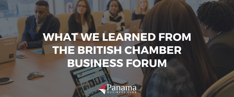 What We Learned from the British Chamber Business Forum